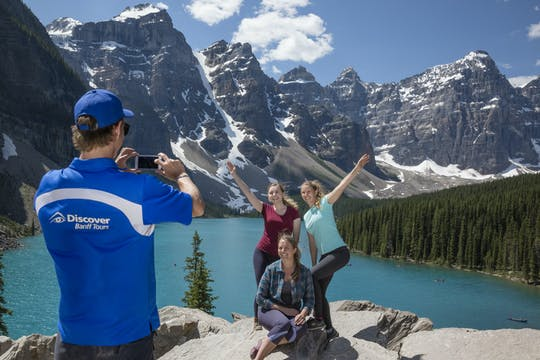 Lake Louise en Moraine Lake-tour