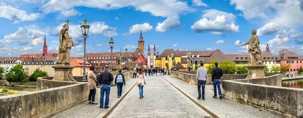 Tour privado a pie de Wurzburgo