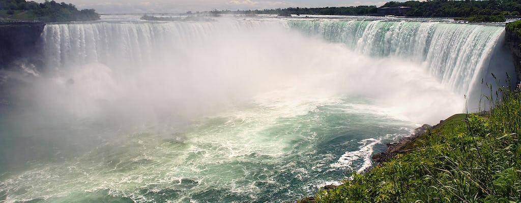 Tour negli Stati Uniti alle Cascate del Niagara con giro in barca Maid of the Mist