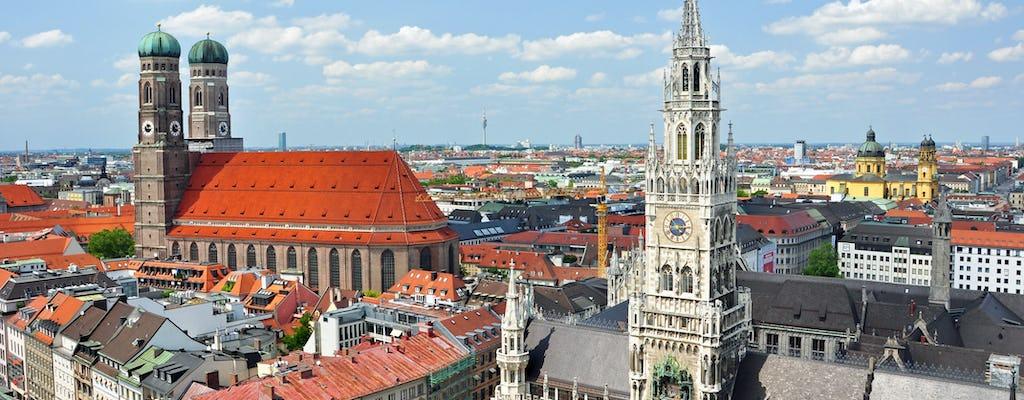 Guided walking tour through Munich