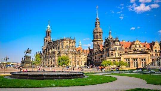 Tour guidato privato a piedi di Dresda