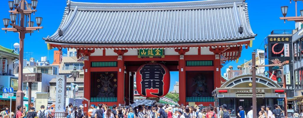 1400-year history exploration tour in Asakusa