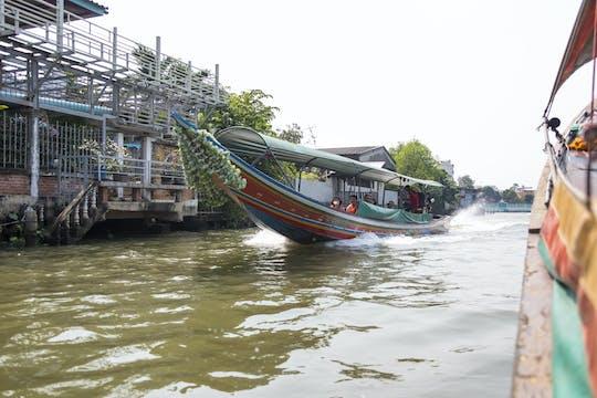 Bangkok Kanal-Tour und Wat Arun