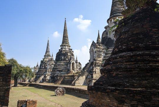 Tocht door het Ayutthaya Historical Park