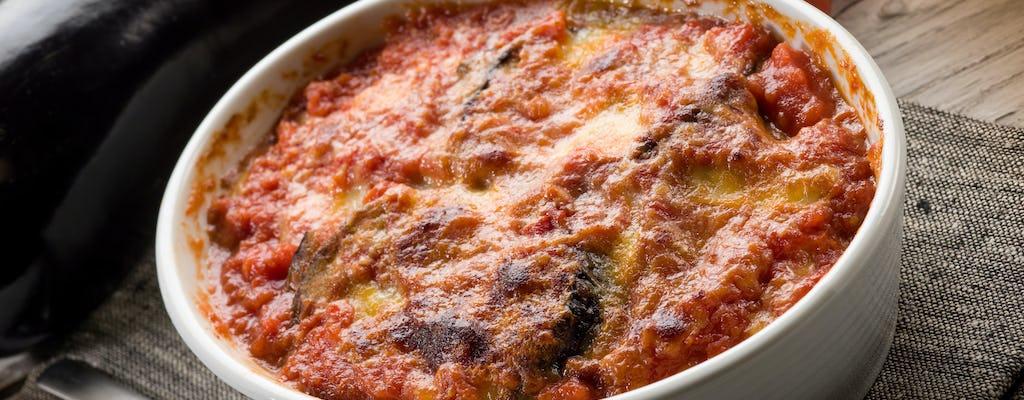 Clase de cocina y degustación en la casa de una Cesarina en Sorrento