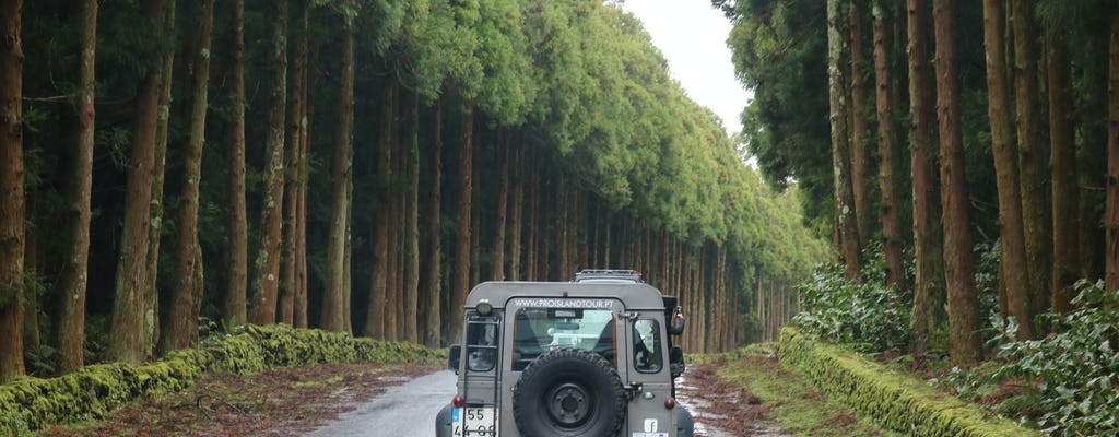 Jeep tour through breathtaking landscapes in Terceira