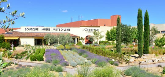 Guided tour of the factory, museum-store and garden at L'OCCITANE en Provence