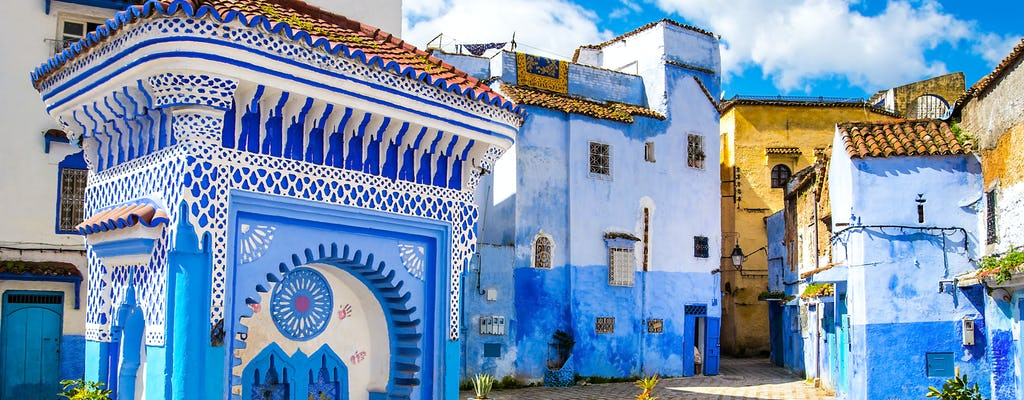 Chefchaouen e il tour delle cascate di Akchour instagram da Tangeri