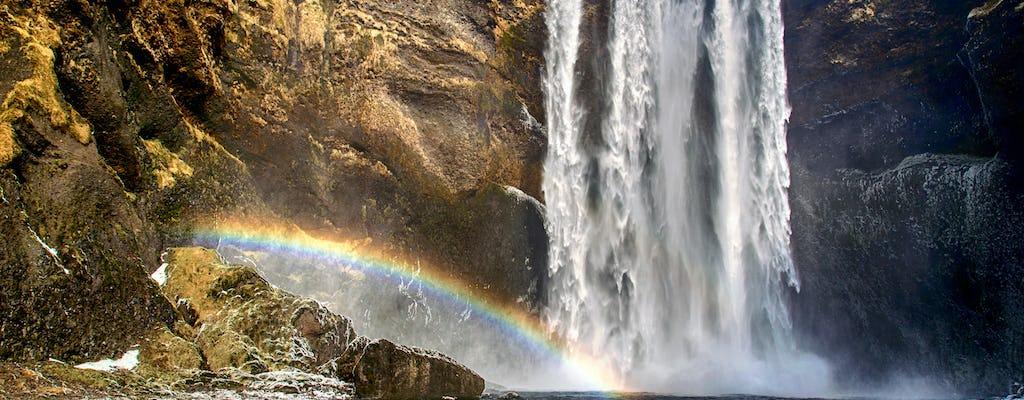 Glacier hiking and South Coast tour from Reykjavík