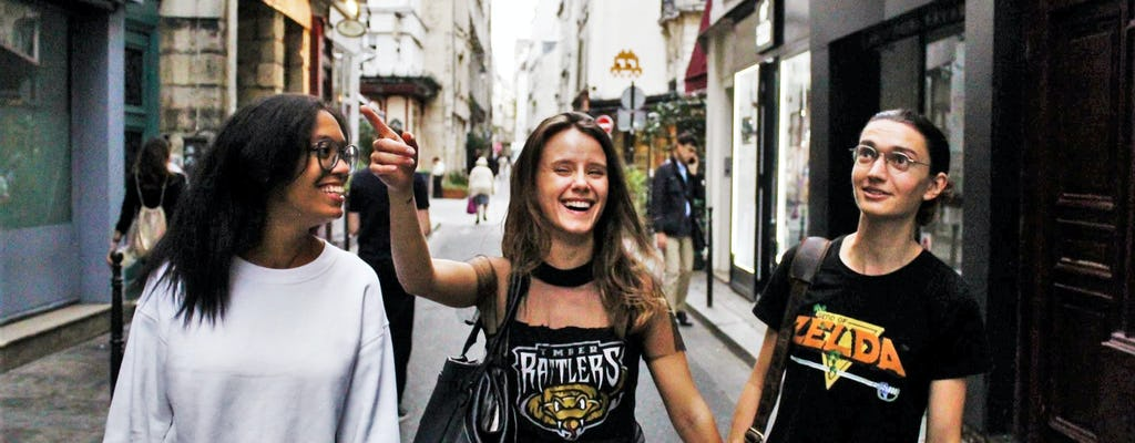 Mulheres rebeldes de Paris: uma caminhada feminista