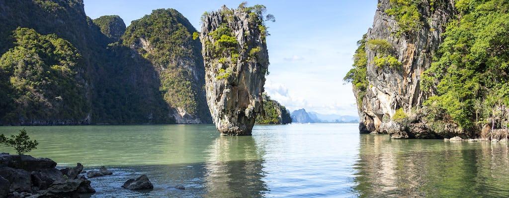 Wycieczka motorówką na wyspę Jamesa Bonda z Khao Lak