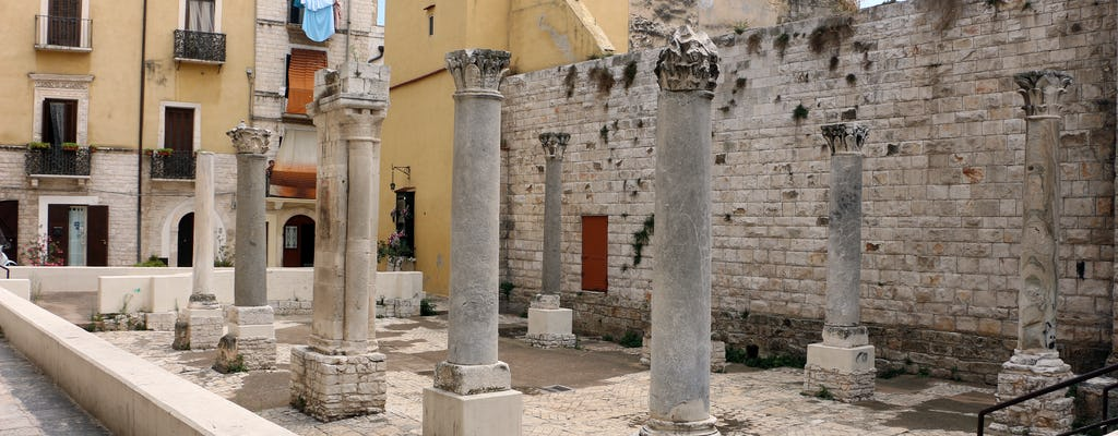 Tour arqueologico de Bari