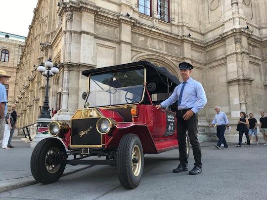 Vienna electric vintage car sightseeing tour