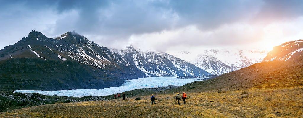 Skaftafell Blue Ice Cave e Glacier hike tour per piccoli gruppi