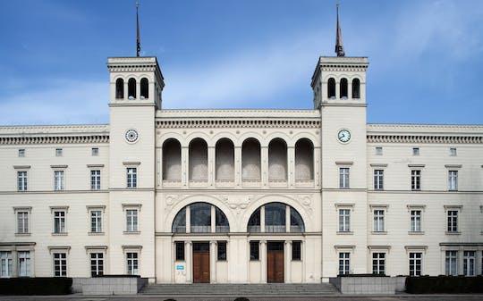 Preis der Nationalgalerie exhibition at Hamburger Bahnhof entrance ticket