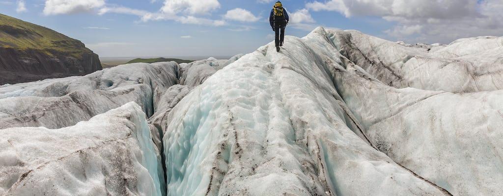 Escalada no gelo de Skaftafell e caminhada nas geleiras