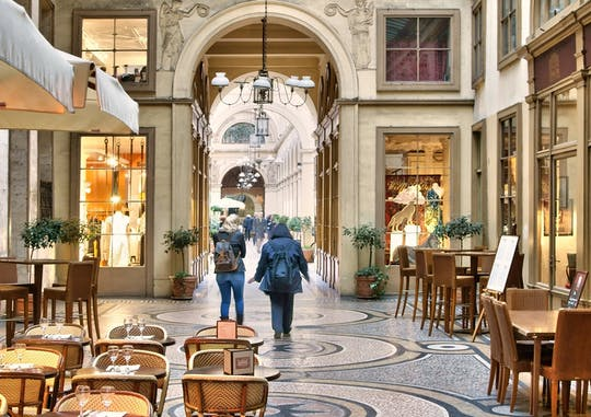 Private tour of the Parisian covered passages