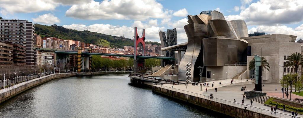 Die neue und moderne Bilbao von San Sebastián Premium Tour