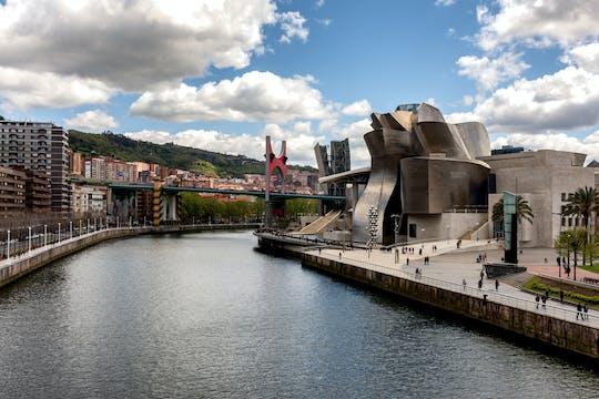 The new and modern Bilbao from San Sebastián premium tour