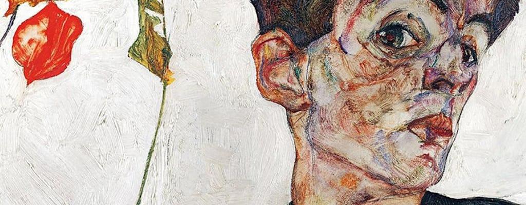 Private tour about Egon Schiele's scandalous art at Leopold Museum