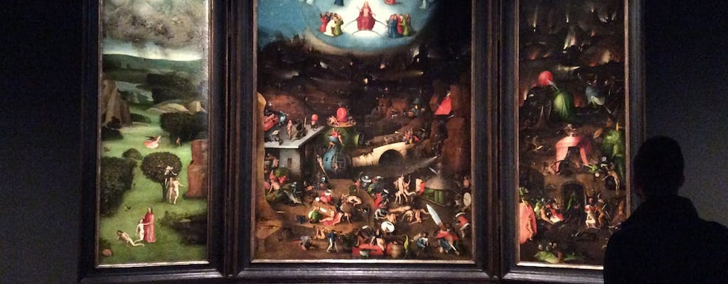 The topography of hell in the collection of the Academy of Fine Arts