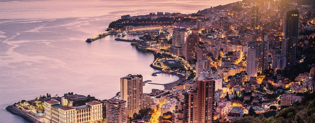 Small-group excursion day and night in Monaco