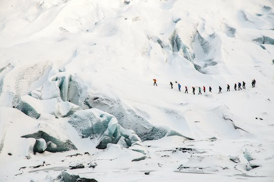 Sólheimajökull ice climbing and glacier hike