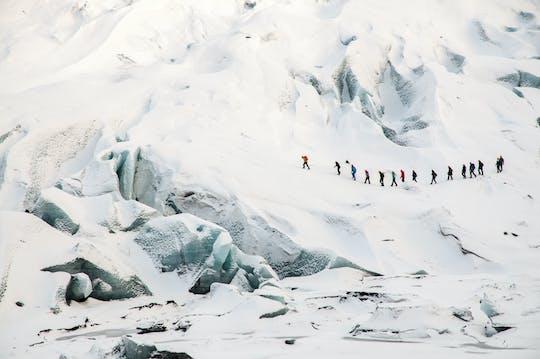 Sólheimajökull arrampicata su ghiaccio ed escursione sul ghiacciaio