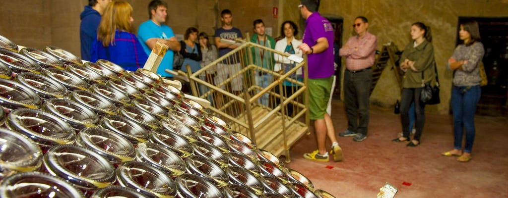 Full-day cava tour in Penedès