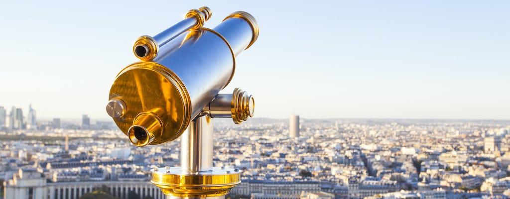 Torre Eiffel 3 ° piano con tour della città di Parigi