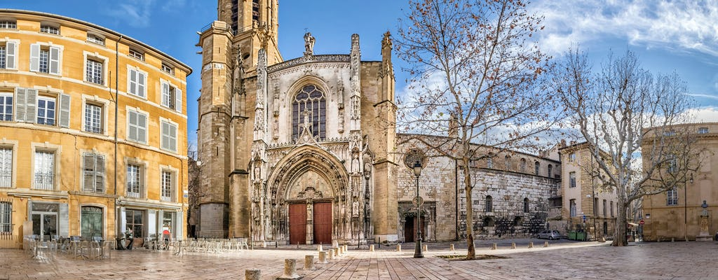 Full-day excursion to Aix-en-Provence with wine tasting