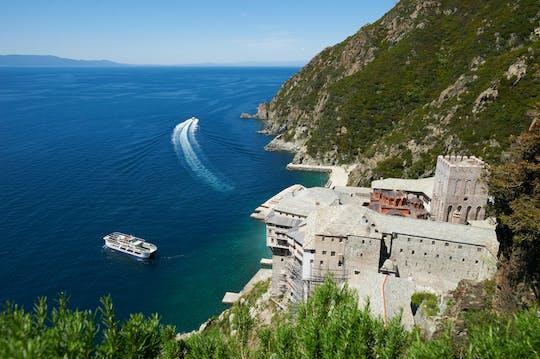 Cruzeiro de dia inteiro no Monte Athos saindo de Thessaloniki