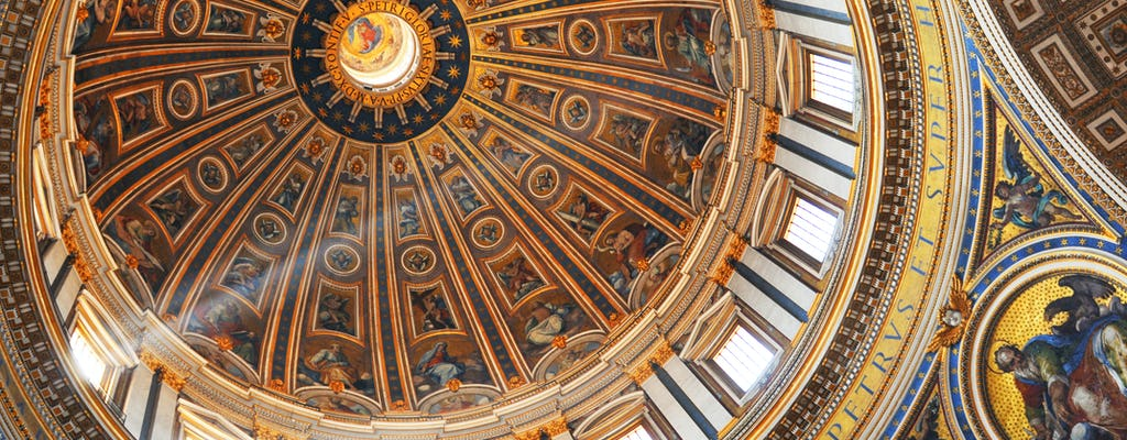St. Peter's Dome climbing with Basilica upgrade and Crypts