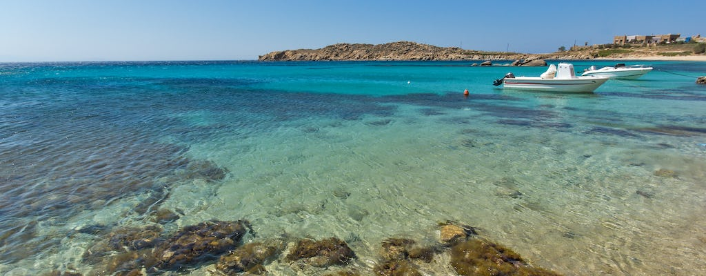 Mykonos private yachting experience: South coast and Dragonisi Island