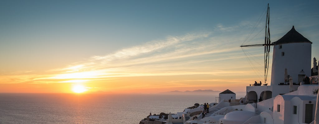 Mykonos private yachting experience: sunset cruise
