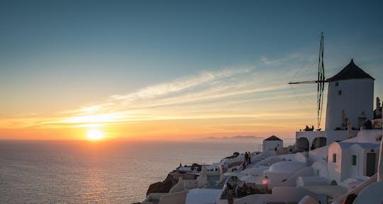 Experiencia de navegación privada en Mykonos: crucero al atardecer