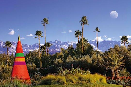 Excursión de un día a los jardines mágicos Anima y al valle de Ourika desde Marrakech