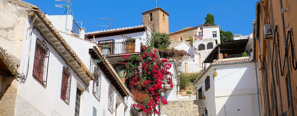 Albaicín and Sacromonte walking tour
