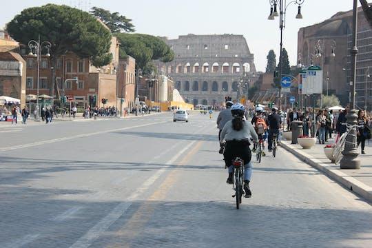 Elektryczna wycieczka rowerowa po Siedmiu Wzgórzach Rzymu