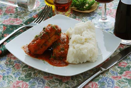 Clase de cocina y degustación en la casa de Cesarina en el lago Maggiore.