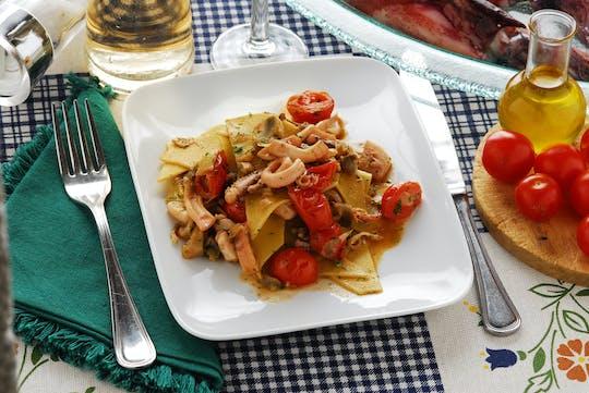 Kookcursus en proeverij in het huis van een Cesarina in La Spezia