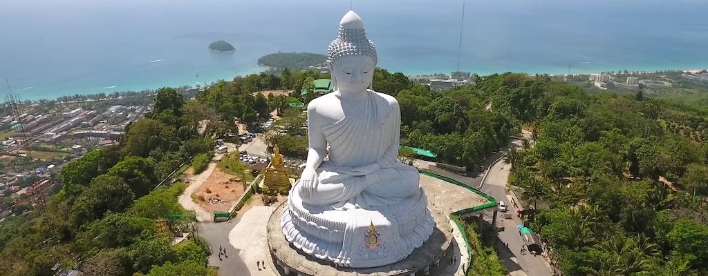 Amazing Phuket Island guided tour with Big Buddha