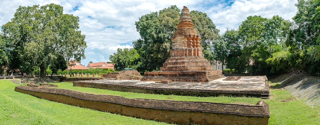 Ancient cities tour of Wiang Kum Kam and Wat Chiang Man
