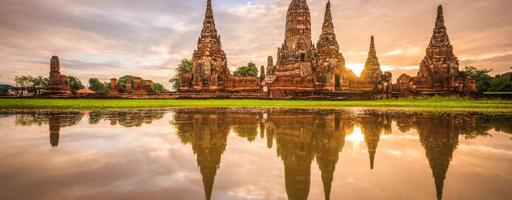 Antiguos templos de Ayutthaya y crucero por el río con almuerzo