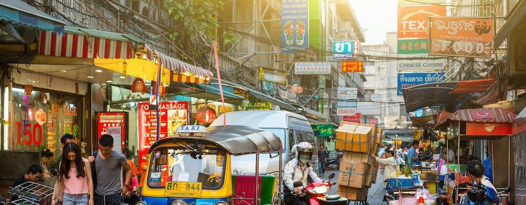 Experiencia guiada del patrimonio del barrio chino de Bangkok