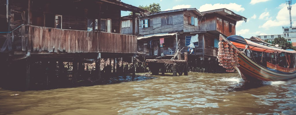 Bangkok Grachtenrundfahrt mit oder ohne Abholung vom Hotel
