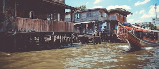 Excursão pelo canal de Bangkok com ou sem embarque no hotel