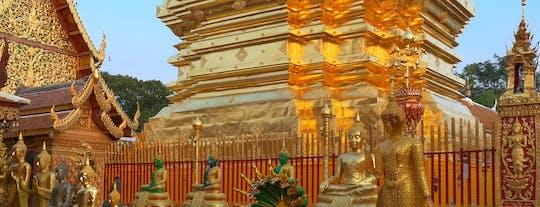 Tour durch die Stadt und die Tempel von Chiang Mai