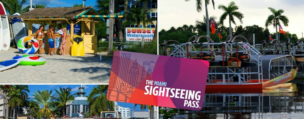 Pass FLEX di Miami Sightseeing