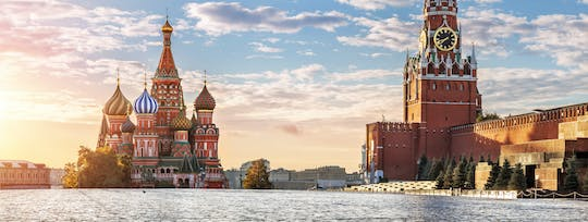 Red Square and St Basil's Cathedral tour